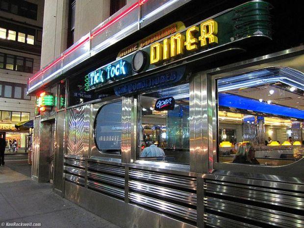 tik tok diner NYC